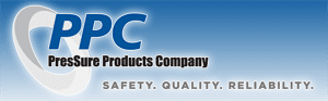 Pressure Products Company Logo